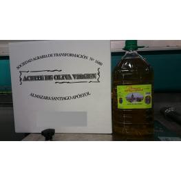 Aceite de Oliva Virgen 1ª Extracción En Frio 3X5 Litros (Caja)