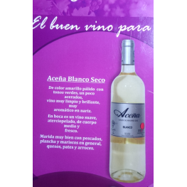Aceña Blanco Seco 3 Botellas de 75 Cl.(Estuche) D.O. Madrid
