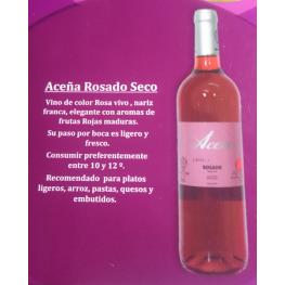 Aceña Rosado Seco 3 Botellas de 75 Cl.(Estuche) D.O. Madrid