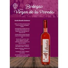 Aceña Rosado Semiseco 3 Botellas de 75 Cl. (Estuche) D.O. Madrid (Premio Gran Viña de Madrid 2017) Aceña Rosado 2016