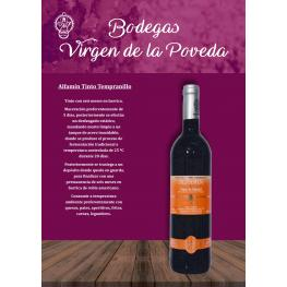 Alfamín Tinto Tempranillo Roble Joven 3 Botellas 75 Cl.(Estuche)D.O. Madrid