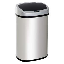 Homcom® Cubo de Basura Apertura Automática Sensor Papelera Reciclaje Para Cocina Dormitorio 58L<br> - Color: Modelo 2