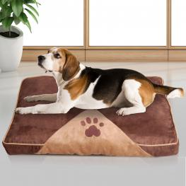 Almohada de Perro 100X70Cm Cama Colchon Cojin Sofa de Mascota Para Dormir<br> - Color: Marron