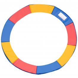 Cubierta de Proteccion Borde Trampolín Homcom Pec Epe ø305Cm  - Color: Multicolores