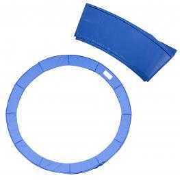 Cubierta Proteccion Borde Cama Elastica Homcom Pvc Pe ø366Cm,azul  - Color: Azul