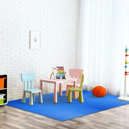 Homcom® Alfombra Puzzle Para Niños y Bebés Goma Espuma Eva<br> - 2,88M2<br> - Color: Azul