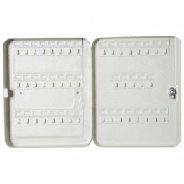 Homcom® Armario Para Llaves 45 Ganchos Caja de Llaves de Pared  - Color: Beige