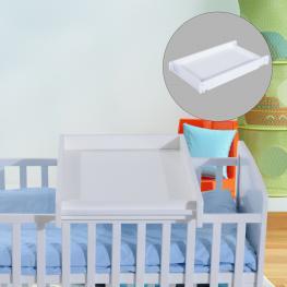 Homcom Cambiador Para Bebés Madera Blanco 87X50X10Cm - Color: Blanco