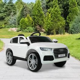 Homcom® Coche Eléctrico Audi Q5 Blanco Para Niños Mayores de 3 Años<br> - Color: Blanco