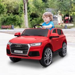 Homcom® Coche Eléctrico Audi Q5 Rojo Para Niños Mayores de 3 Años<br> - Color: Rojo