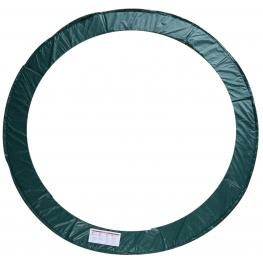 Homcom Cubierta Proteccion Borde Cama Elastica 305 Cm Verde Trampolines Cama Elástica<br> - Color: Verde