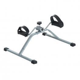 Homcom Mini Bicicleta Estática de Acero Para Pedalear Aparato €� 40 X 53 X 29Cm - Color: Gris y Negro