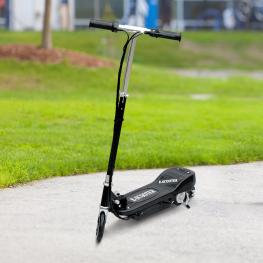 Homcom Patinete Eléctrico Plegable Tipo Scooter Con Manillar Ajustable  - Color Negro  - 81.5X37X96Cm  - Color: Negro