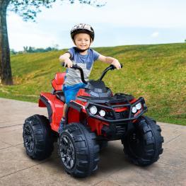 Homcom® Quad Eléctrico Infantil Coche Eléctrico Cuatrimoto Batería 12V Para Niños Mayores de 3 Años- 103X68X73Cm<br> - Color: No