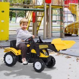 Homcom® Tractores Para Niños 3-6 Años Coche Pedales Carga 35Kg 114X41X52Cm Acero y Plástico<br> - Color: No