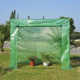 Invernadero Tipo Caseta de Jardín Con 2 Ventanas Acero Outsunny® - Color: Verde