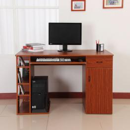 Mesa de Ordenador Pc 120X60X74 Cm Oficina Despacho Escritorio Mobiliario Madera<br> - Color: Color Madera