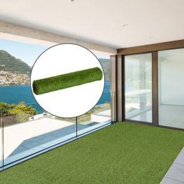 Outsunny Césped Artificial En Rollo 3X1M Tipo Alfombra O Estera de Hierba Sintética de Exterior Para Jardín y Terraza 25Mm<br> - Color: Verde