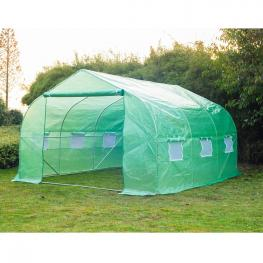 Outsunny Invernadero Con Mosquitera Para Flores y Plantas - 3.5X3X2 M Verde - Color: Verde