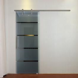 Pack Accesorios Para Puertas Correderas Homcom Ф2,5X200 Cm-Plata  - Color: Silver