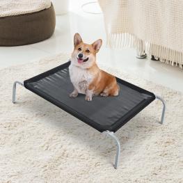 Pawhut® Cama Perro Para Viajar Cama Elevada Para Mascota 89X58X20Cm -