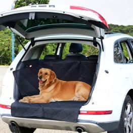 Pawhut Protector de Perros Para Maletero - Color Negro - Tela Oxford y Caucho Antideslizante - 99X132Cm - Color: Negro