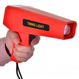 Pistola Estroboscopica 12V Motor Gasolina Lampara Xenon Punto de Encendido Rojo<br> - Color: Rojo