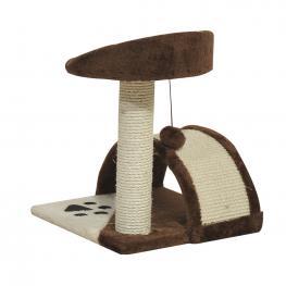 Rascador Gato Altura 36X36X44Cm Arbol Poste Para Arañar Juegos Para Gatos - Color: Marron