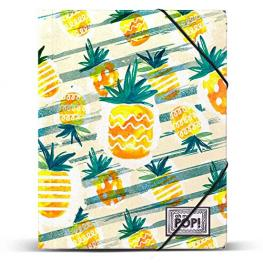 Carpeta Ananas Oh My Pop A4 Gomas