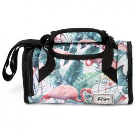 Bolsa Portameriendas Oh My Pop Tropical Flamingo