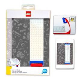 Agenda Lego Banda de Construccion Gris