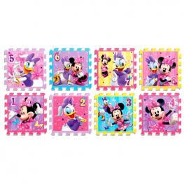 Alfombra Puzzle Minnie Disney Goma Eva