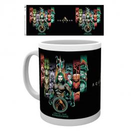 Taza Unite The Kingdom Aquaman Dc Comics