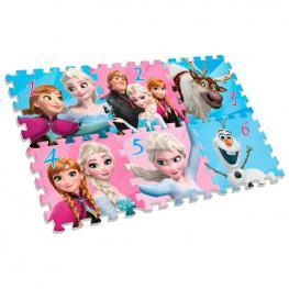 Alfombra Puzle Eva Frozen Disney 6Pz