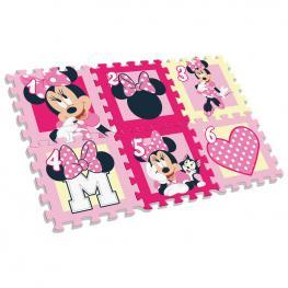 Alfombra Puzzle Eva Minnie Disney 6Pz