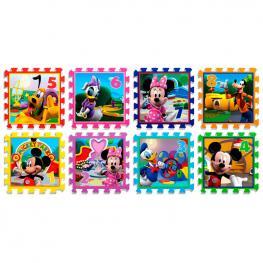 Alfombra Puzzle Mickey Disney Goma Eva