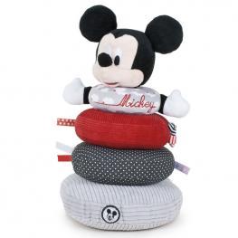 Anillos Apilamiento Peluche Mickey Disney Baby Soft