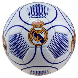 Balon Futbol Real Madrid Blanco Azul Grande
