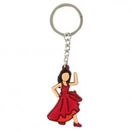 Llavero Emoji Flamenca