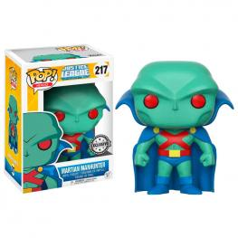 Figura Pop Dc Comics Justice League Martian Manhunter Exclusive