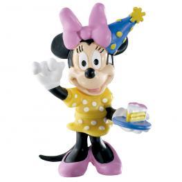 Figura Minnie Cumpleaños Disney