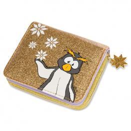 Billetero Pinguino Frizzy Winter Nici