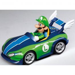 Blister Coche Luigi Pull Speed Wild Wing Wii Nintendo