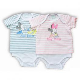 Body Minnie Mickey Disney Babies Surtido
