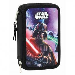 Plumier Star Wars Saga Disney Doble 28Pz