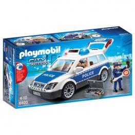 Coche de Policia Con Luces y Sonido Playmobil City Action