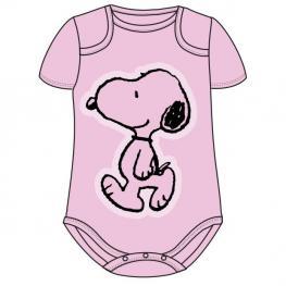 Body Snoopy Rosa