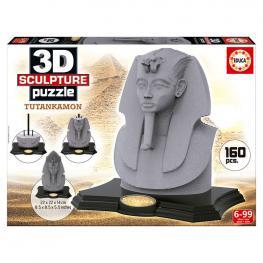 Puzzle 3D Tutankhamon