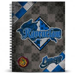 Cuaderno A4 Harry Potter Quidditch Ravenclaw