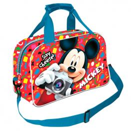 Bolsa Deporte Mickey Disney Say Cheese 38Cm